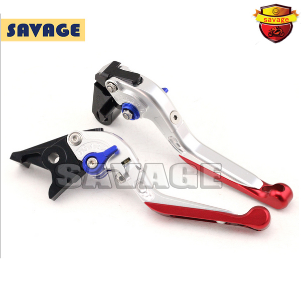 For HONDA CB650F CB 650F CBR650F CBR 650F 2014-2015 Motorcycle CNC Aluminum Folding Extendable Brake Clutch Levers Silver<br>