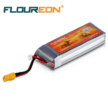 FLOUREON RC Battery 3S 35C 11.1V 5500mAh XT60 Plug Li-Polymer for RC Helicopter RC Airplane RC Hobby
