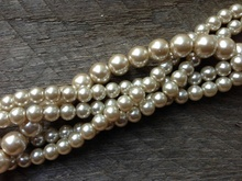 French Luxury Design Evening Dress Grade AAA Office Champagne Pearl Necklace(China)