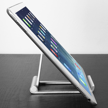 Adjustable Portable Aluminum Folding Table Stand Laptop Computer Notebook Desk Table Holder for PC/Cell Phone(China)