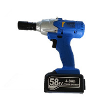 58v 5.0Ah 280N.m Rechargeable lithium battey Electric wrench Impact Wrench Car Tyre Wheel hand Wrench Cordless Drill driver tool