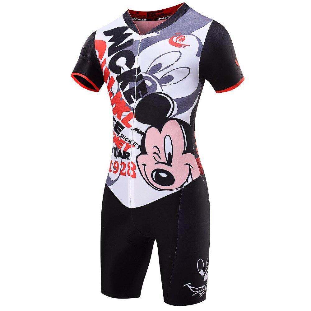 MICKEY Malciklo Brand 2017 High Quality Newest Pro Fabric Cycling Jerseys Jumpsuit Skinsuit Bike Clothing Triathlon Sport S003<br><br>Aliexpress
