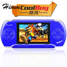 "Coolboy RS-2A Handheld Game Players 3.2"" Video Game console for kids 300 Classical Game Support External handle(China)"