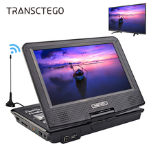 TRANSCTEGO DVD Player Car TV 9.8 inch players LCD Screen Support TV Game DVD VCD CD MP3 MPEG4 Radio with Gamepad TV Antenna DVB(China)