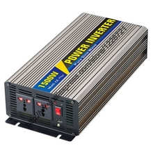 1500W Pure Sine Wave Inverter for Solar Panel 12VDC 24VDC 48VDC To AC110V 220V For Small photovoltaic power generation system(China)