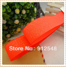 "New Free shipping 7/8 ""(22MM) 10 Code 1 package hot monochrome fluorescent ribbons DIY,MDYG007"
