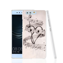 06851 MUSIC NOTES MUSIC IS LIFE cell phone Cover Case for huawei Ascend P7 P8 P9 lite Maimang G8