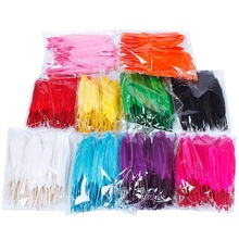 New 100pcs/lot Natural Beautiful Goose Feather Decoration 4-6 Inches 10-15 cm Colors for Choosing #65764