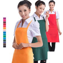 15 Design Factory Price PVC Waterproof Aprons Adjustable Sleeveless Cooking Work Aprons Kitchen Apron Schort Chef Apron