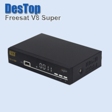 V8 Super BOX HD Satellite Receiver DVB-S2 Tuner freesat v8 Super Combo Support USB wifi 1pc/lot with DHL shipping