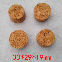 33*29*19mm Wine Glass Bottle Pot Soft Corks Test Tube Wood Stoppers Free Shipping