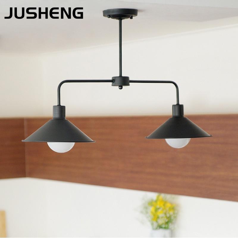 JUSHENG Surface Mounted Nordic Modern Led Ceiling Lights Kitchen Kids Bedroom Home Metal shade Led Ceiling Lamp Fixture