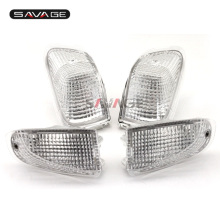 For KAWASAKI ZZR 400 ZZR400 1990 1991 1992 Motorcycle Accessories Front&Rear Turn Signal Indicator Light Lamp Lens
