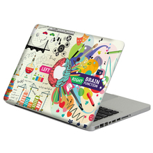 "Creative brain Laptop Decal Sticker Skin For MacBook Air Pro Retina 11"" 13"" 15"" Vinyl Mac Case Notebook Body Full Cover Skin"