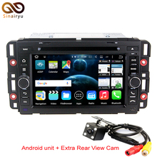 "HD 7"" 2GB RAM Android 6.0 Car DVD Player For GMC Acadia Yukon Savana Sierra Sonoma Envoy Terrain Canyon Stereo Radio GPS Navi"