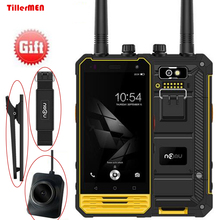 NOMU T18 Military 3GB+32GB MTK6737T Quad Core IP68 Waterproof Mobile Phone Android 7.0 Fingerprint NFC Walkie talkie SmartPhone(China)