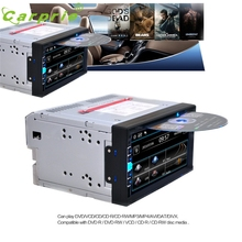 Car-styling 7 In Dash 2 Din HD Car Stereo DVD Player Bluetooth Touch Screen FM Radio USB SD ja17