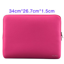 "Portable Laptop Bag Huelsen Pocket Soft Sleeve Cover Smell for MacBook Air Pro Retina Ultra book Portable Notebook 13 ""13.3""(China)"