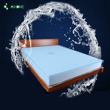 360 Degrees Full Elasticity TPU White Waterproof Hypoallergenic Anti-mite Mattress Cover Mattress Protector Queen King Size(China)