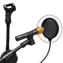 Microphone Wind Screen Pop Filter Mask Shield Flexible Professional Condenser Microphone Studio BOP Cover for Broadcast Record