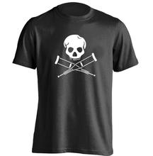 MTV Show Jackass Skull Mens & Womens Personalized T Shirt Cool T Shirt(China)