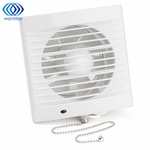 16W 220V 5 Inch Household Window-type Silent Extractor Exhaust Fan Hotel Glass Windows Wall Kitchen Bathroom Ventilation Fan(China)