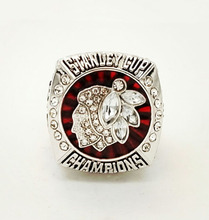 Factory Direct Sale Good Quality 2013 Ice Hockey Chicago Black Hawk Championship Rings(China)