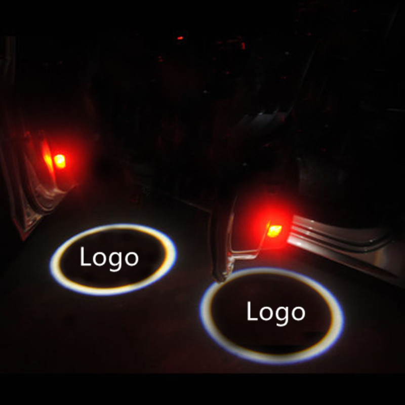 Emblems Welcome Ghost Shadow Logo lamp LED Car Door Logo Projector Laser Light  FOR Audi A1 A3 A4 A5 A6 A6L A4L R8 TT Q5 Q7<br><br>Aliexpress