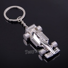 Promotional F1 racing cars keyring, carabiner keychain, men's rings,  wholesale 20pcs/lot sports cars keyring free shipping