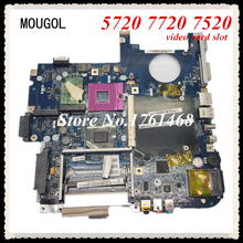 MOUGOL LA-3551P mainboard For Acer 5720 5315 7720 5729G 7520 Laptop motherboard video card slot 100% WORKING FAST Shipping(China)