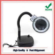 Free Shipping 1pcs BEST208L Adjustable Brightness Maintenance Table Lamp Magnifier Super Bright 36 LED (F4B2) 1.3KG