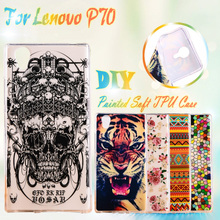 TAOYUNXI Rubber GEL Mobile Phone Cases For Lenovo P70 P70A P70-A P70T P 70 5.0 inch Silcone Case Cover TPU Phone Case Cover(China)