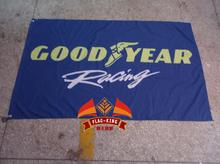 good year racing team flag,good year racing banner,90*150CM polyster flagking brand flag