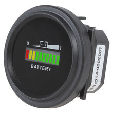 12/24V 36V 48/72V Universal Red Yellow Green Three-color LED lights Battery Indicator Charge Status Meter(China)