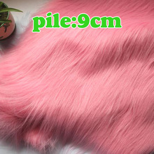 "Pink Solid Shaggy Faux Fur Fabric (long Pile fur)  Costumes  Cosplay  Backdrops Cloth 36""x60"" Sold By The Yard  Free Shipping"