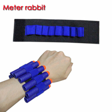 Toy Gun eva bullet wristband For Nerf Gun soft bullet holder professional player eva bullet accessories outdoor game equipment(China)