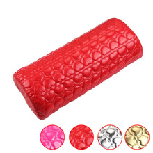 Nail Art Pillow for Manicure Hand Arm Rest Pillow Cushion PU Leather Holder Soft Manicure Nail Tool Equipment(China)