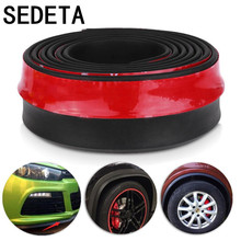 2.5M Universal Car Protector Front Bumper Lip Splitter Body Kit Bumpers Car Styling Accessiories