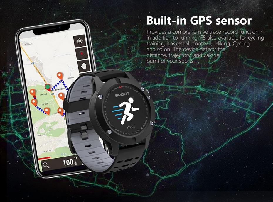 DTNO.1 F5 GPS Smart watch (4)