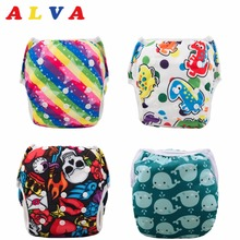 U PICK 1pc 2017 Alva Reusable and Washable Baby Swimming Diaper Swimming Nappy(China)