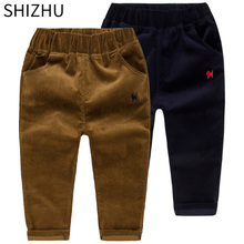 Baby Boys Casual Pants Kids Clothing Cotton boys Long Trousers Baby Harem Pants Baby Boys Clothing corduroy pants casual pants(China)