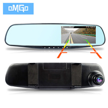 new dvr dual lens car camera rearview mirror auto dvrs cars recorder video registrator full hd1080p night vision dash cam