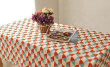 2016 Summer new Korean plaid table cloth tablecloths home hotel cafe bar tablecloths wholesale cotton table cloth , freee shippi