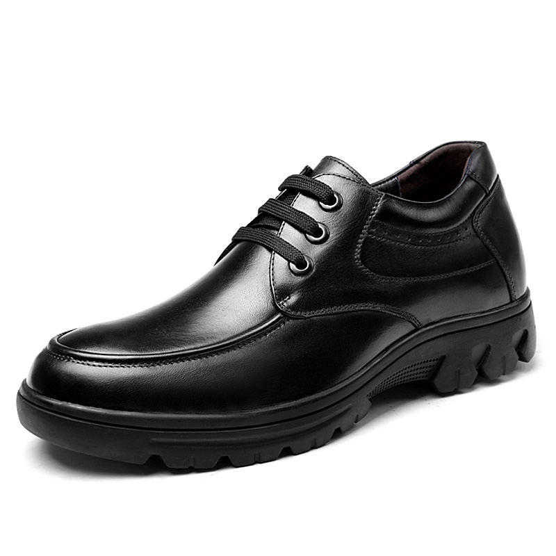 2.36 Inches Taller-Genuine Leather Heightening Elevated Oxfords Business Casual Shoes<br><br>Aliexpress