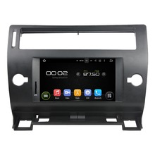 "7"" Separate Octa-core Android 6.0 Car Multimedia Player For CITROEN C4 2005-2011 Car Video Audio Stereo Free MAP Car DVD Player(China)"