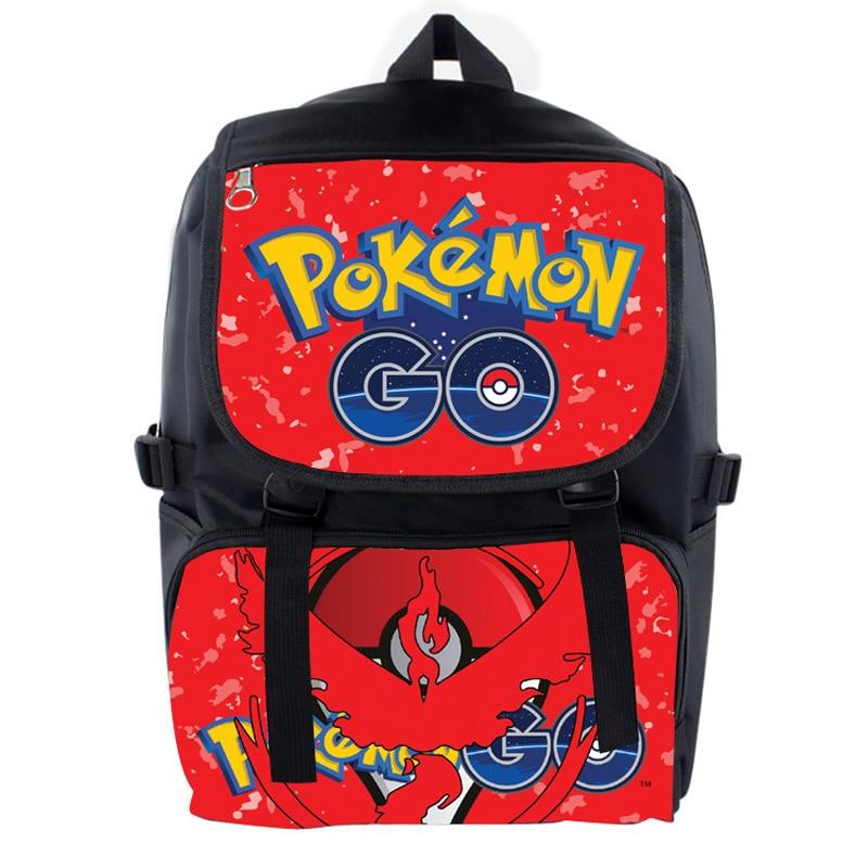 Mobile Game Pokemon Go Nylon Waterproof Laptop Backpack/Double-Shoulder School Bag: Valor<br><br>Aliexpress
