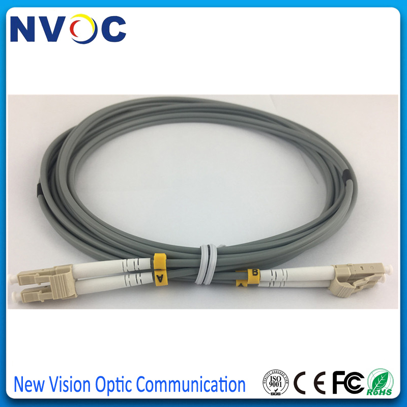 100M Armored cable Fiber Patch Cord,LC to LC,3.0mm 1GB 62.5//125,duplex