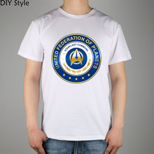 Star Trek science fiction film T-shirt cotton Lycra top 9883 Fashion Brand t shirt men new(China)