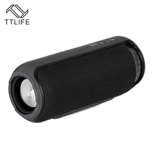 TTLIFE M3 Bluetooth 4.1 Waterproof Portable 24 Watts Speaker With DSP Subwoofer With Great Highs Super Bass Outdoor And Indoor