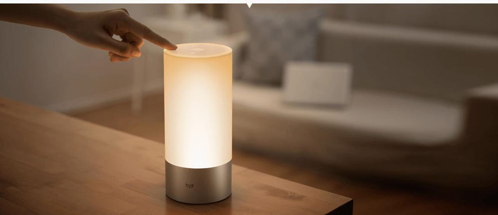 Original Xiaomi Yeelight Smart Bedside Lamp Indoor Bluetooth LED Light 16 Million RGB Touch Control for Smart Phone App Control